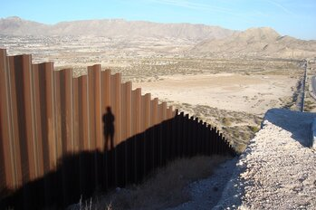 Texas/Mexico border