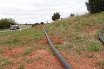 Water lines for oil and gas drilling operations