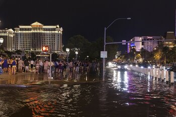 Why does Las Vegas flood?