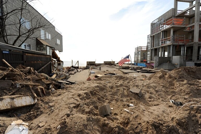 Structures in Brooklyn, N.Y.'s Seagate community