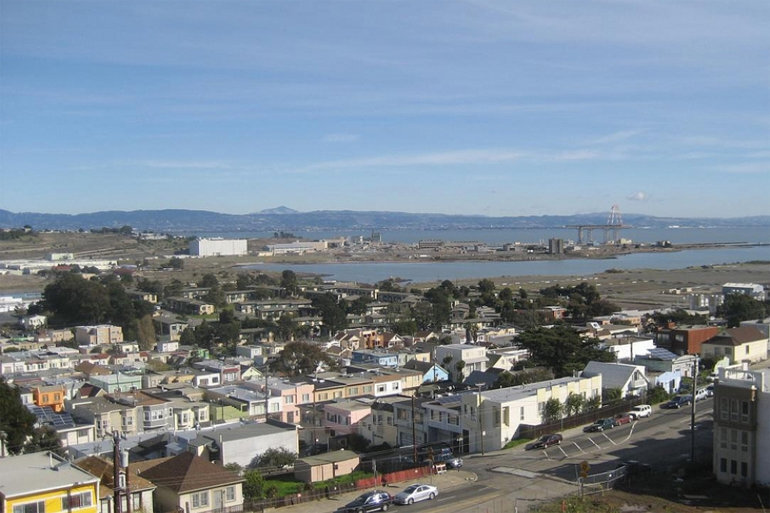 Bayview area of San Francisco