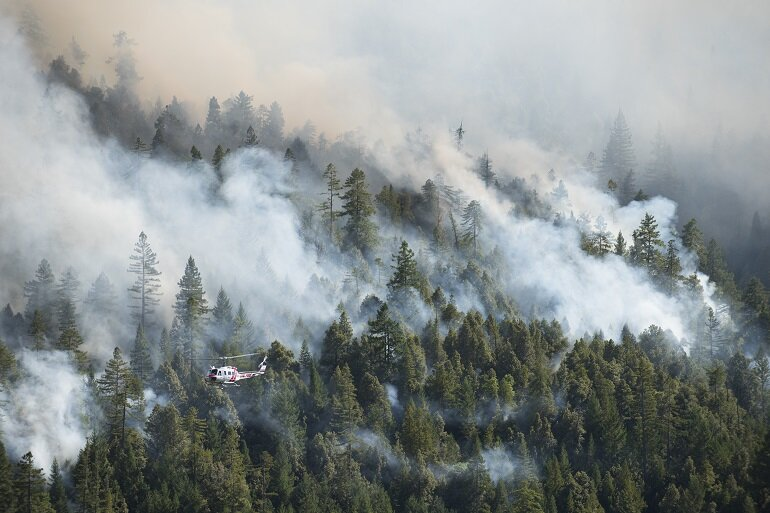 Cold fire grows to 4000 acres