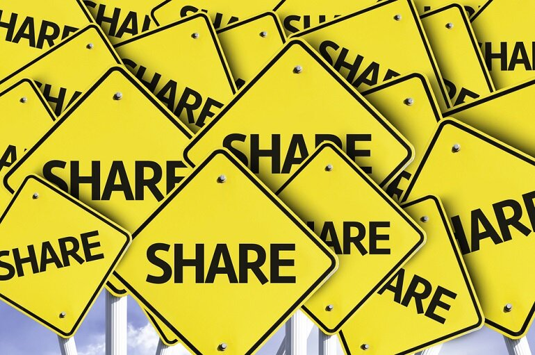 Share sign