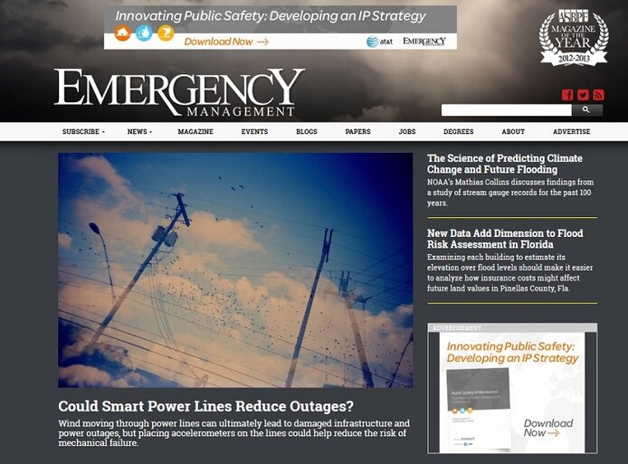 Emergency Management new site