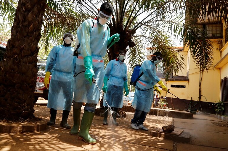 Fight against Ebola in Guinea