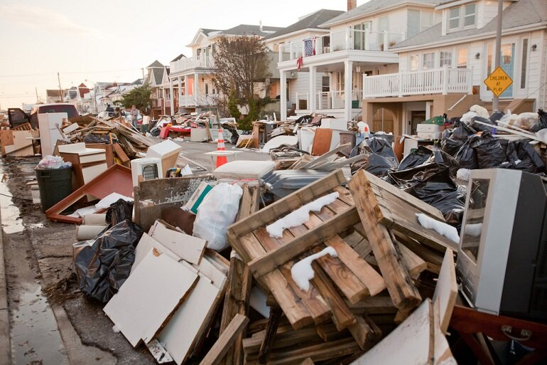 Hurricane Sandy created widespread devastation on Long Island