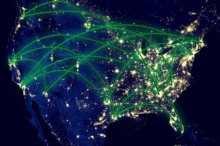 Connected United States