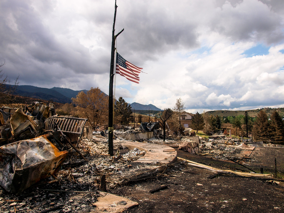 Waldo Canyon Fire damage