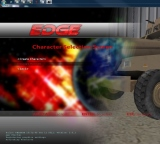Screenshot of EDGE simulation technology