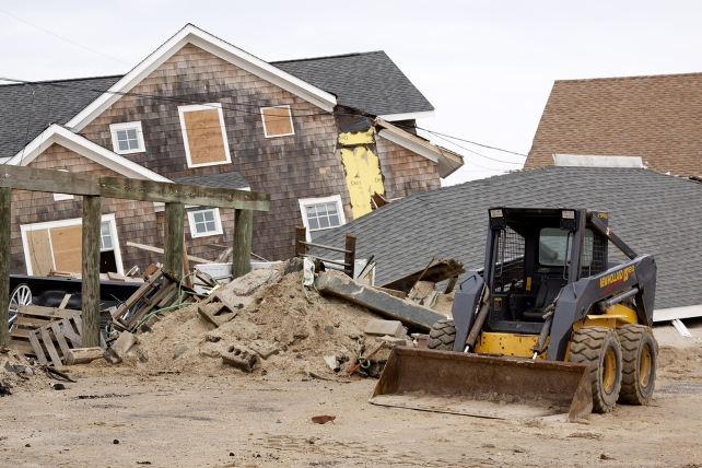 New Jersey home destroyed by Hurricane Sandy