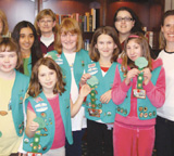 Girl Scouts Troop 5127 in Potomac, Md.