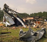 South Carolina tornado damage